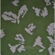 Ткань сорочечная Люкс 120 КМФ, Ткань Тиси КМФ, 35%хл 65%п/э, 120 г/кв.м., ВО фото