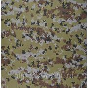 Ткань Темп-210 рип-стоп КМФ, ВО, 35%хл 65%п/э, 210 г/кв.м. фото