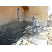 Ремонтная Сухая Смесь МБР 400 машинного нанесения по бетону, камню, кирпичу, ЖБИ, ЖБК, монолиту фото