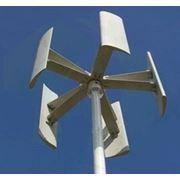Ветрогенератор «Sokol Air Vertical - 10 кВт» (вертикально-осевой, вертикальный ветряк) фото