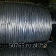 Проволока стальная оцинкованная для сердечников проводов (ГОСТ 9850-72) фото