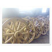 Колесо деревянное фото