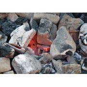 Древесный уголь оптом фото