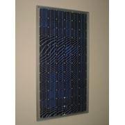 Модуль солнечный каркасный 120Вт МСК-120(12), монокристаллический фото