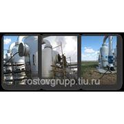 Очистка загрязнений газоочистителя (сепаратора) для фильтрации газа на линейном газопроводе фото