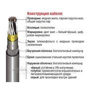 Инструментальный кабель RE-2X(St)НSWAH многопарный фото