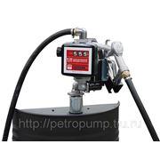 Электрический бочковой насос для перекачки масла DRUM Viscomat 70 K33 фото