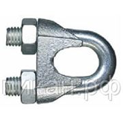 Зажим для троса, оцинк М3 (100 шт) DIN 741 фото