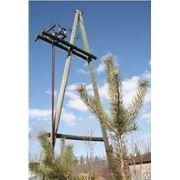 Опора ЛЭП деревянная пропитанная 6 м (пропитка ССА) фото