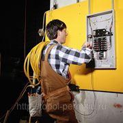 Услуги электрика. Электромонтажные работы. фото