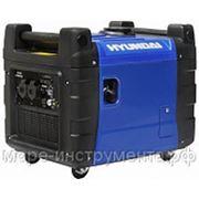 Генератор Hyundai HY3600SEi, бензиновый, инверторный, 230 В, 3.2 кВт, электростартер, 55 кг.