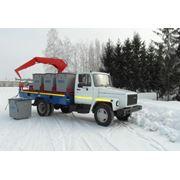 Мусоровоз контейнерный МК-2 фото