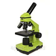 Микроскоп Levenhuk Rainbow 2L NG Lime\Лайм фото