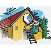 Антенны на дом, дачу — установка, ремонт. фото