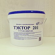 Герметик однокомпонентный акриловый ТЭКТОР 101 серый, 15кг фото