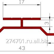 Алюминиевый стыковочный профиль для композитной панели фото