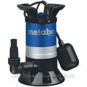 Погружной дренажный насос metabo ps 7500 s 0250750000 фото
