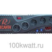 Бытовой однофазный цифровой стабилизатор Ресанта С1500
