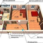 Сигнализация GSM, Готовое решение 2х комнатная квартира фото