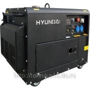Электрогенератор Hyundai DHY8000SE фото