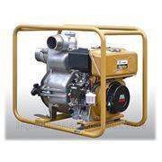 Мотопомпа промышленная дизельная для сильнозагрязненных жидкостей PTD306T (Япония) фото