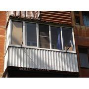 Пластиковые балконы без выноса фото