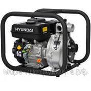 Мотопомпа бензиновая Hyundai HYH50, 500 л/мин., max высота подъёма 70 м, ∅ вх/вых. трубы 50/38 мм, пожарная фото