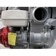 Мотопомпа бензиновая грязевая Кошин KTH-100X (двиг.Honda) фото