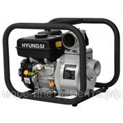 Мотопомпа бензиновая Hyundai HY80, 1000 л/мин., max высота подъёма 30 м, ∅ вх/вых. трубы 80/80 мм фото