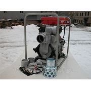 Дизельная грязевая мотопомпа Yanmar YDP40TN фото