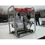 Мотопомпа Yanmar YDP40N с дизельным двигателем для чистой воды фото