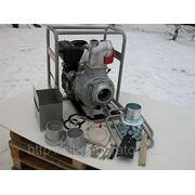 Грязевая мотопомпа Yanmar YDP40STN-E (электростарт) фото