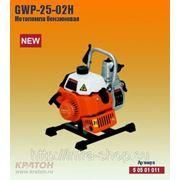 Бензиновая мотопомпа Кратон GWP-25-02H фото