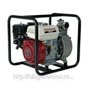 Мотопомпа бензиновая для среднезагрязненной воды Honda WB20 XTDRX фото