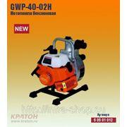 Бензиновая мотопомпа Кратон GWP-40-02H фото
