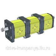 Насосы трёхсекционные GP28N-10N-10N, GP28N-14N-10N фото