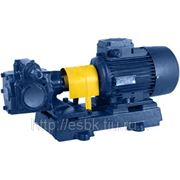 Насос НМШ 8-25-6,3/2,5 масляный шестерённый с двигателем 2,2 кВт/1500 фото