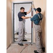 Установка межкомнатных дверей фото