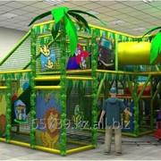 Детский игровой лабиринт Лесная дорога фото