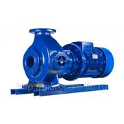 Центробежный моноблочный насос Sewabloc сухой установки для перекачивания загрязненной воды (производитель KSB AG) фото