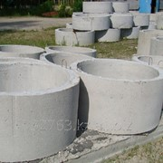Кольцо колодезное КС 10-9 диаметр 1,0м, высота 0,9м фото