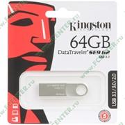"Флеш-драйв 64ГБ Kingston ""DataTraveler SE9 G2"" (USB3.0) фото"
