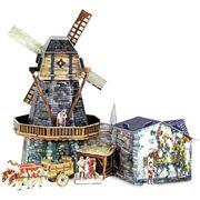 Средневековый город. Модель для сборки. Серия фото