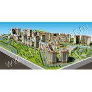 Архитектурные, градостроительные макеты зданий, сооружений, макеты рельефов местности фото