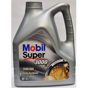 Масло Mobil Super 3000 5w40 син (4 л) фото