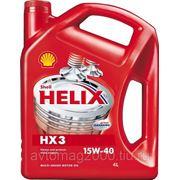 Shell — минеральное масло Helix 10w40 (HX3) 4 л фото