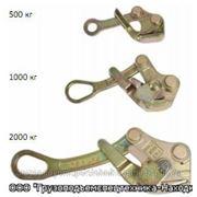 Захват для натяжения кабеля и каната 1,0т, диапазон 5-20мм