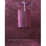 Пакет бумажный крафт 18*23см 0584/NR-P фото