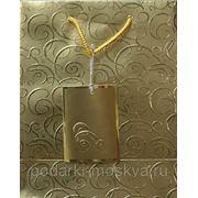 Пакет бумажный крафт 18*23см 0584/NR-G фото
