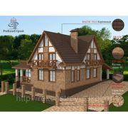 3-D визуализация проектов коттеджей и домов - бесплатно!!! фото